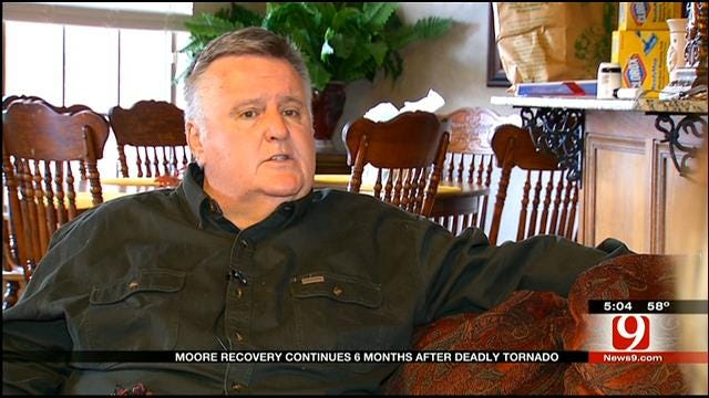 Man Helps Moore Families Cope With Devastating Loss