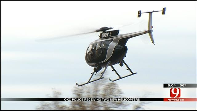 OKC Police To Get Two New Helicopters