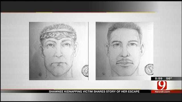 OSBI Releases Sketches Of Men Who Kidnapped Shawnee Teen