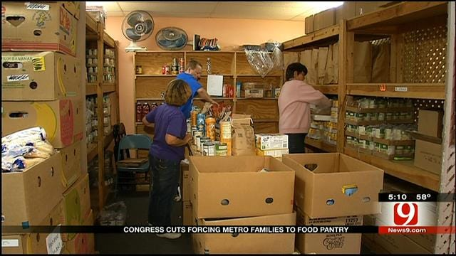 OKC Metro Food Banks Stretched Thin As Congress Cuts Food Stamp Budget
