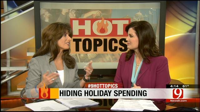 Hot Topics: Hiding Holiday Spending