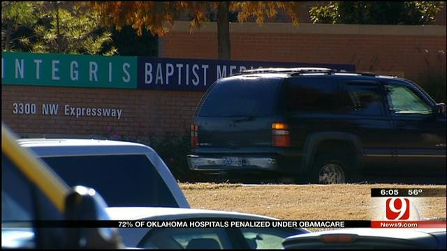 Many Oklahoma Hospitals Penalized Under Affordable Care Act