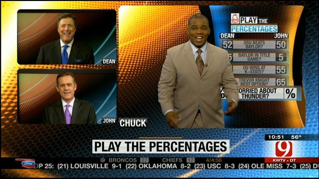 Play The Percentages: November 17