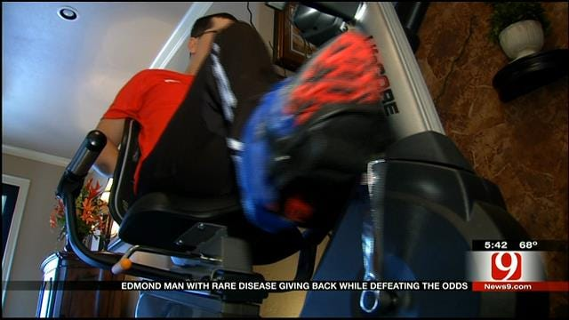 Edmond Man With Rare Disease To 'Ride' Marathon On Black Friday