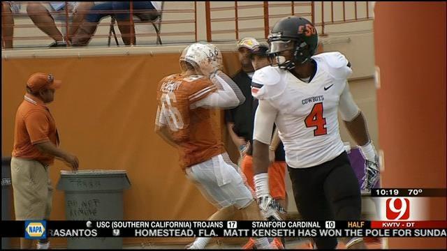 Oklahoma State Slams Texas In Austin