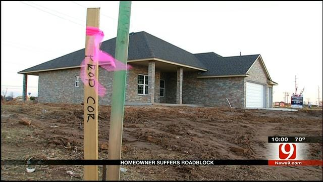 Utility Company Issue Keeps OKC Man From Rebuilding Home