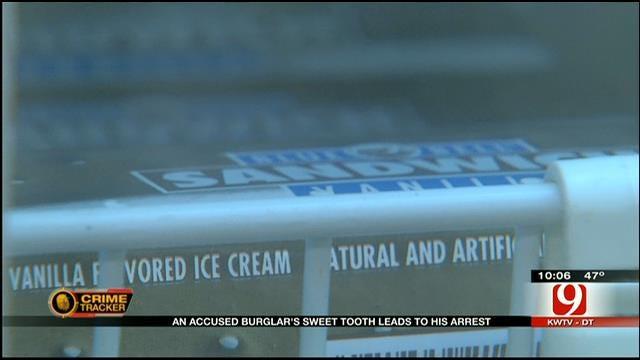Ice Cream Sandwich Helps OKC Police Catch Crook