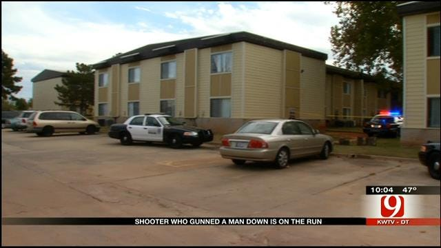 Suspect Sought After Deadly Shooting At SW OKC Apartment