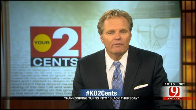 Your 2 Cents: Thanksgiving Transitions Into Black Thursday
