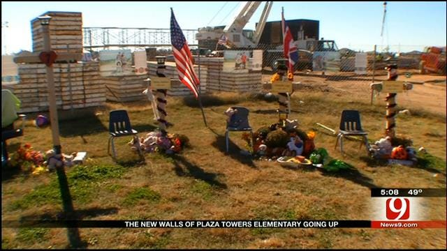 New Plaza Towers Elementary Taking Shape In Moore