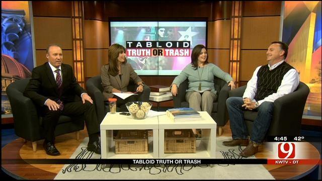Tabloid Truth Or Trash: Bigfoot, Burglar, Bathtub Cleaner