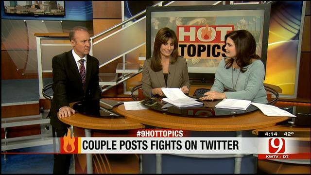 Hot Topics: Couple Tweets Fights; Battle Of NC License Plates