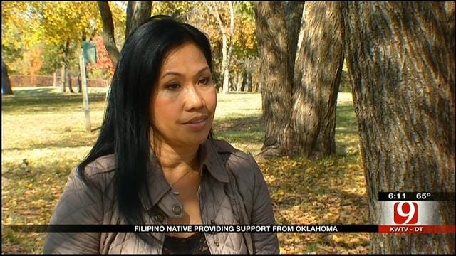 Edmond Philippine Native Works Toward Relief Efforts