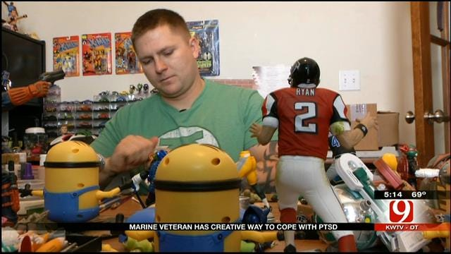 Yukon Veteran Re-Paints Action Figures To Cope With PTSD