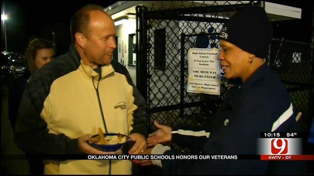 OKC School Honors Oklahoma's Finest Ahead Of Veterans Day