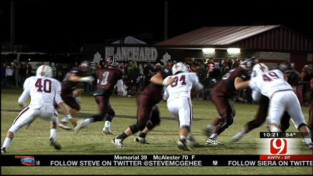News 9 Game Of The Week: Blanchard Vs. Tuttle