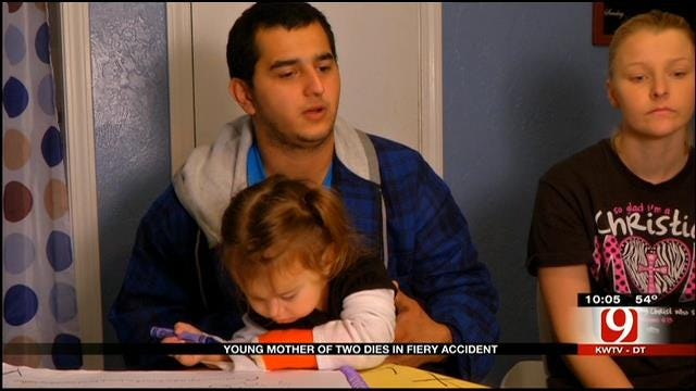 OKC Man Left To Raise Daughters After Wife Dies In Auto Accident