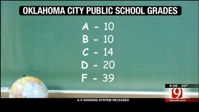 Board Of Education Releases Grades For Oklahoma Public Schools