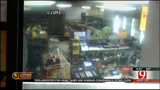 OKC Police Arrest Teen Accused In Taser Attack Of Store Clerk