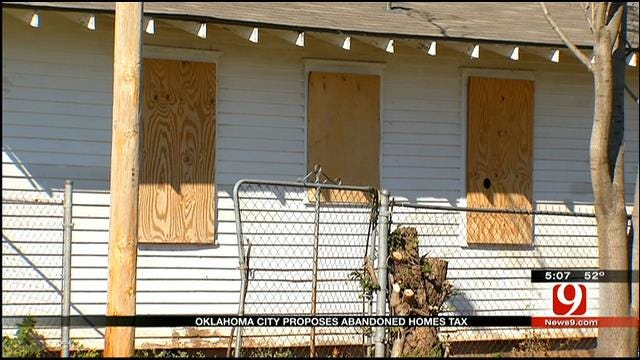 OKC's Plan To Keep Tabs On Vacant And Abandoned Homes