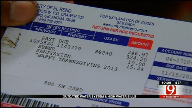 El Reno's Outdated Water System Could Lead To High Water Bills