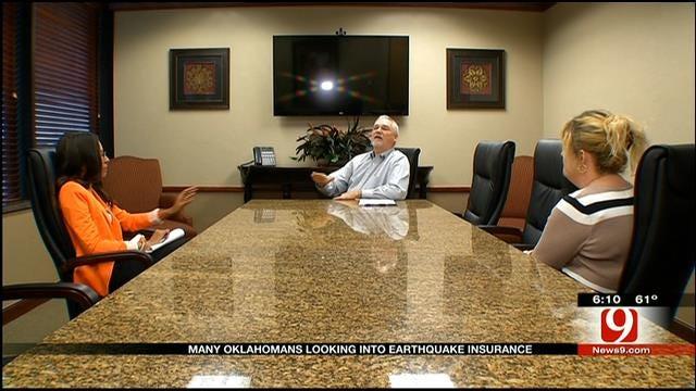 Many Oklahomans Looking Into Earthquake Insurance