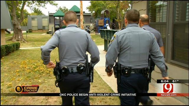 OKC Police Get Federal Grant To Target Violent Crimes