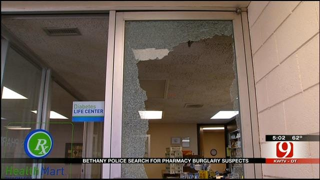 Thieves Steal Hundreds Of Painkillers From Bethany Pharmacy