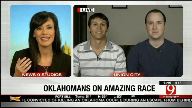 'The Amazing Race' Ends For Best Friends From Oklahoma