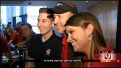 News 9 Team At National Weather Service Festival