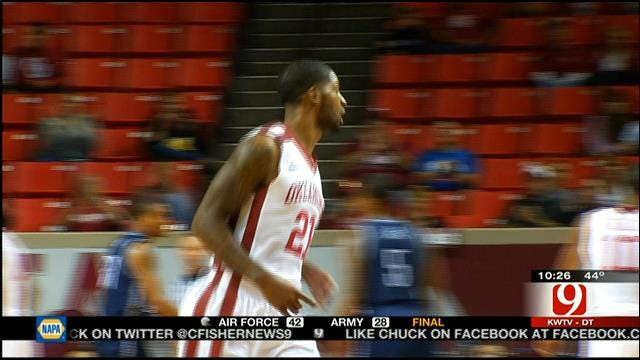 Sooners Route Washburn In Exhibition
