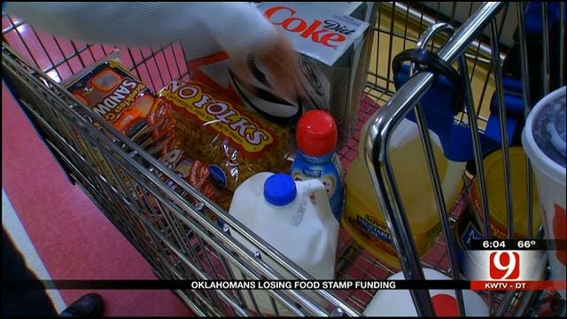 Oklahoma Families Left With Uncertainty After Food Stamp Cuts