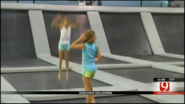 Discover Oklahoma: Elevation Trampoline In Edmond