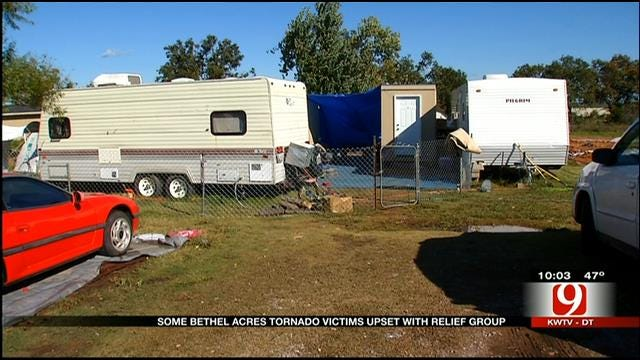 Tornado Relief Feud May Force Shawnee Family From Home