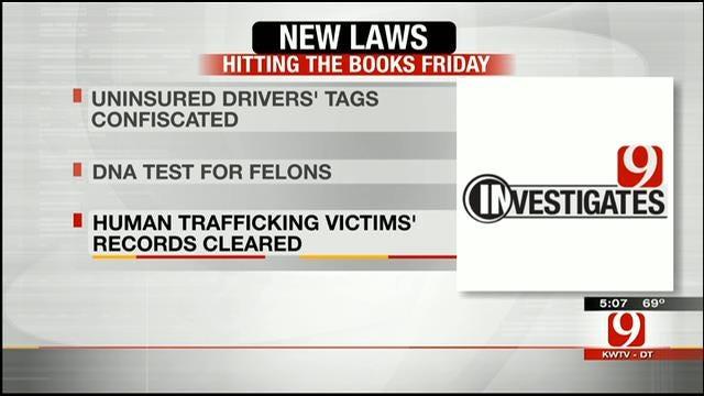 Dozens Of New Laws Set To Hit Oklahoma Books