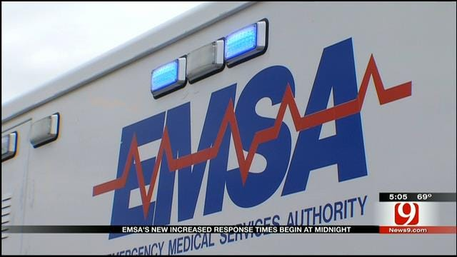 EMSA Increases Response Time Allowance