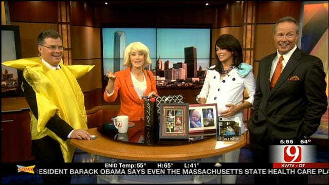 News 9 This Morning Celebrates Halloween
