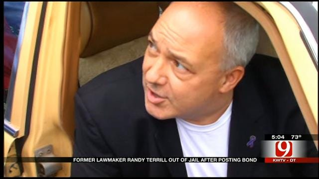 Former Rep. Terrill Speaks Out After Bonding Out Of OK County Jail