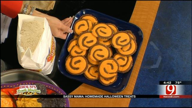 Spooky Swirl Cookies