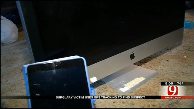 Gadget Guru Homeowner Nabs Suspect Through GPS Tracking In OKC