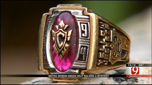 OKC Woman Finds Class Ring In Recently Purchased SUV