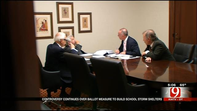Battle Over School Storm Shelter Initiative Enters Hearing At OK Supreme Court