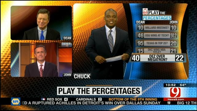Play The Percentages: October 27