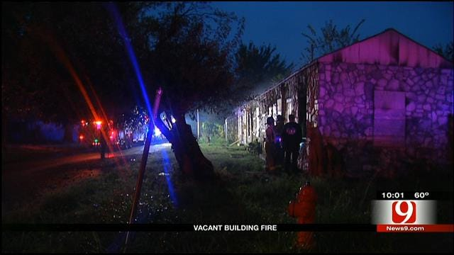 Officials Investigate Fire At Vacant Home In SE OKC