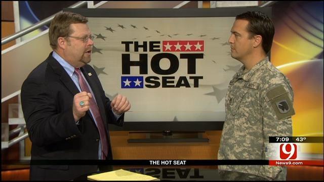 Hot Seat: Sgt. Lloyd Brent Palmer