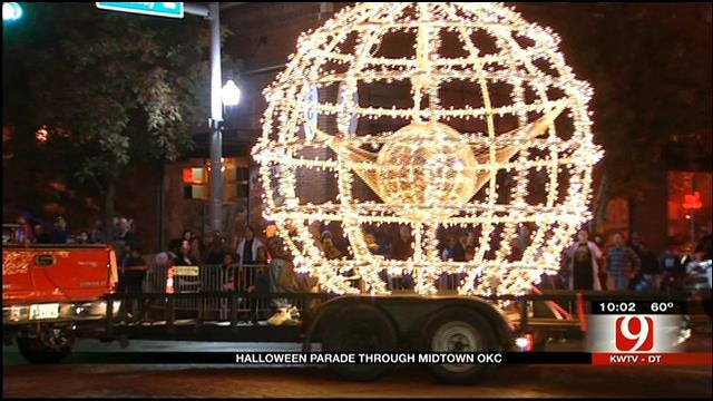 7th Annual OKC Gazette Halloween Parade Kicks Off In Midtown