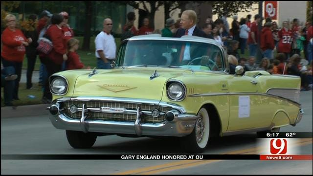 Gary England Honored During OU Homecoming Weekend