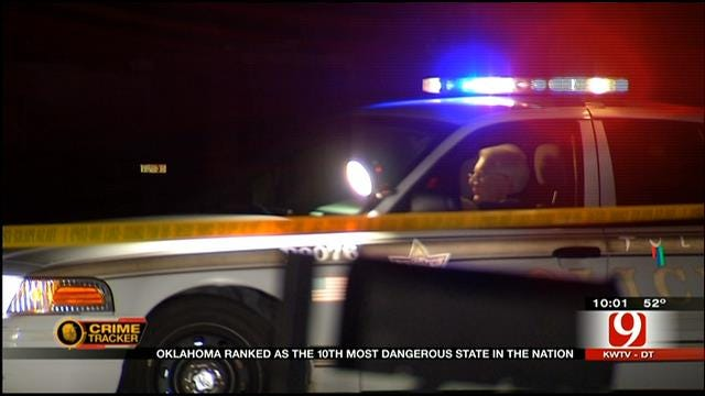 Oklahoma Named One Of Top 10 Most Dangerous States
