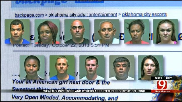 Business Leaders Arrested In OKC Prostitution Sting