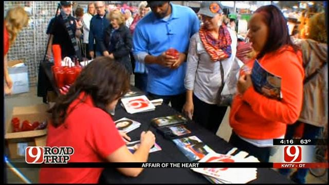 Road Trip Oklahoma: Lacie, David And The News 9 Weather Team At Affair Of The Heart